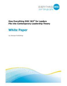 363 for Leaders Whitepaper