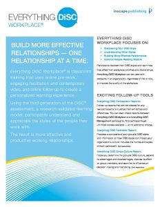 Everything DiSC Workplace eBrochure