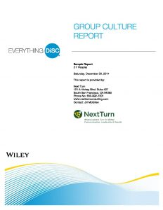 Group Culture Sample Report