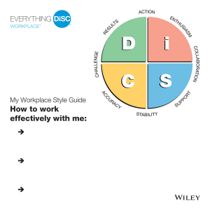Everything DiSC Workplace Style Guides