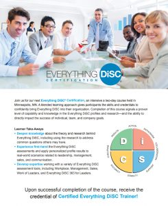 In-Person Everything DiSC Certification Program