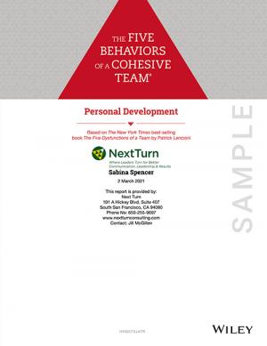 5-behaviors-personal-profile-sample