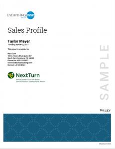 Sample Sales Profile