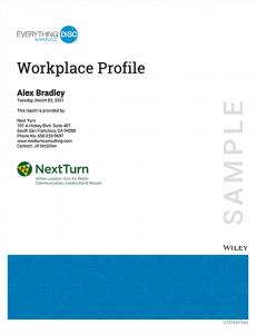Workplace Sample Profile